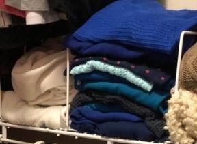 My Sweater Organizer